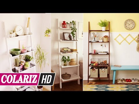 Best Way To Use Step Ladder For Beautiful Home Decor Diy Home Decor Home Decoration Ideas Youtube