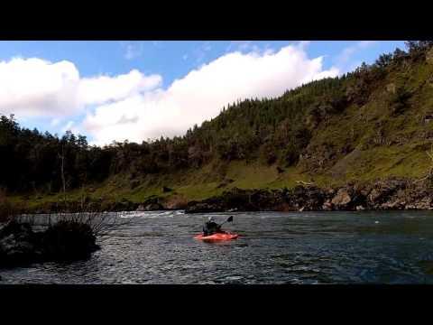 Nami and Josh Go Kayaking