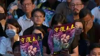 数以千计港人参与公务员发起的集会