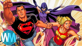 Top 10 AWESOME Spin Off Superhero Teams