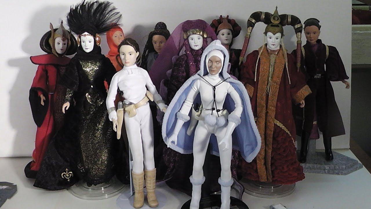 Queen amidala padme amidala doll overview youtube - Princesse amidala star wars ...