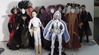 Queen Amidala/Padme Amidala doll overview
