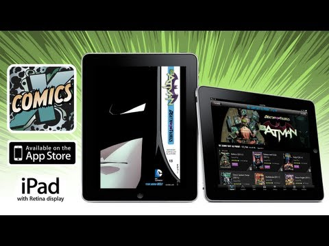Comics by Comixology on iPad with Retina Display