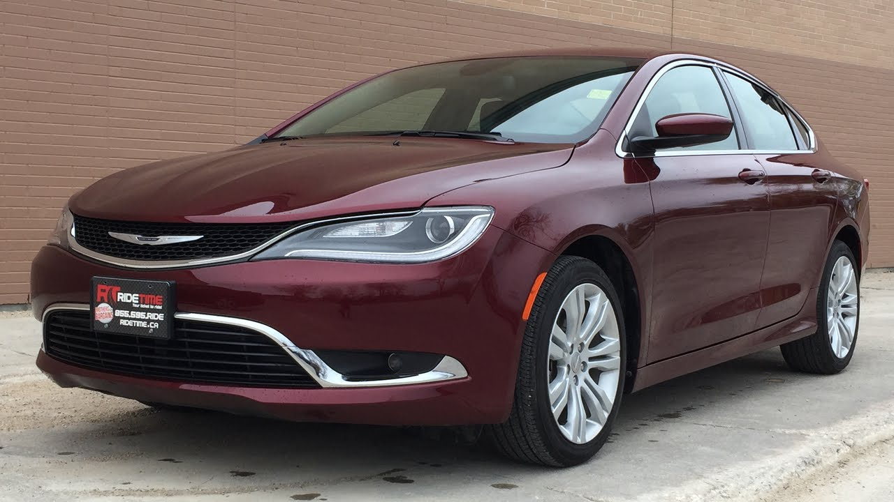 2015 Chrysler 200 Limited 8 4in Display Backup Camera