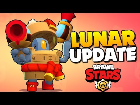 ALL NEW SKINS UNLOCKED!! Lunar Update in Brawl Stars!