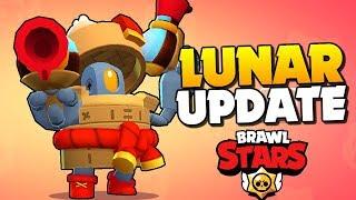 ALL NEW SKINS UNLOCKED!! Lunar Update in Brawl Stars!