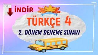 4. SINIF TÜRKÇE DENEME SINAVI Video