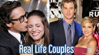 Avengers Real Life Couples