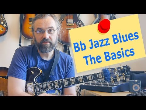 Bb Jazz Blues  - The Basics
