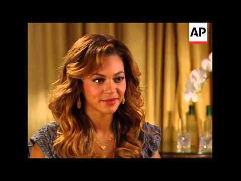 Superstar Beyonce Knowles talks about second album 'B'Day' and her life