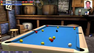 Virtual Pool 4: Starting a Hustler Career (PC Pool Sim)