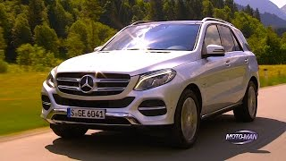 2016 Mercedes Benz GLE 550 e/GLE 500 e Plug In Hybrid EV PHEV FIRST DRIVE REVIEW in Austria