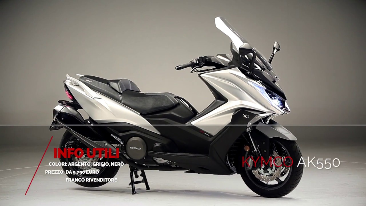 prova di kymco ak 550 abs moto sprint youtube. Black Bedroom Furniture Sets. Home Design Ideas