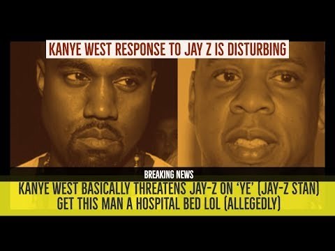 Kanye West RESPONDS TO JAY-Z on 'YE' Its Disturbing and Threatening 'I thought about ##### You'