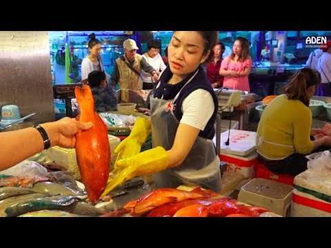 Sanya Fish Market - China - Hainan Island