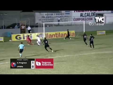 Honduras Progreso vs Lobos UPNFM 4-0 Goles Resumen Repechaje vuelta Liga Nacional de Honduras