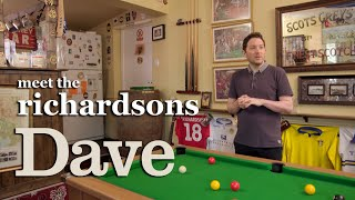 Jon Richardson's Got His Own Pub in His Garden | Meet The Richardsons | Dave