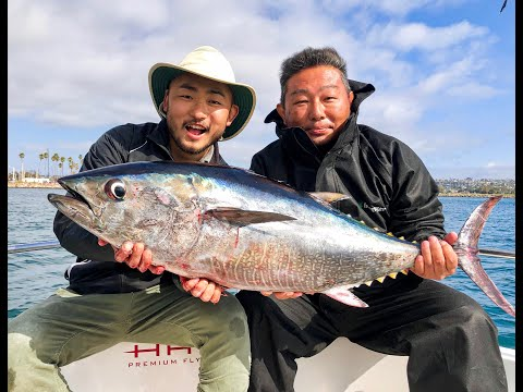 Two Sushi Chefs Catch And Prepare BLUEFIN TUNA