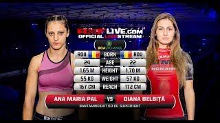 RXF 30 - Bucuresti 2018 RXF : Diana BELBITA vs Ana Maria PAL Please...