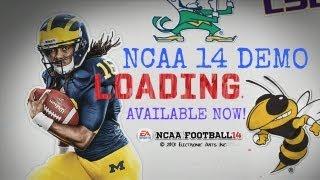 NCAA Football 14 - Demo Available Now! (PS3 & Xbox 360)