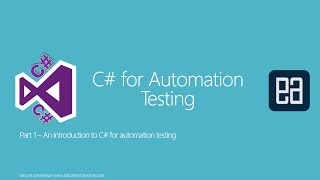 C# for Automation Testing