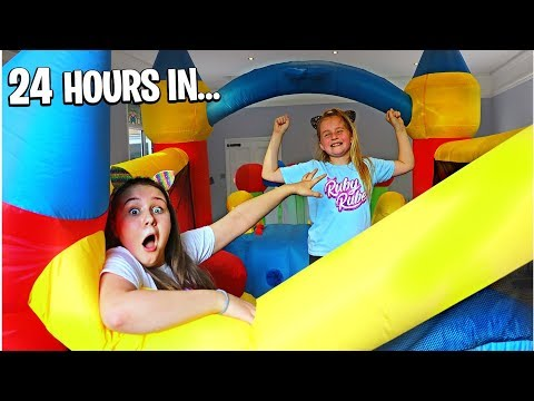 Last To Stop Bouncing On Bouncy House Wins $10,000 Challenge