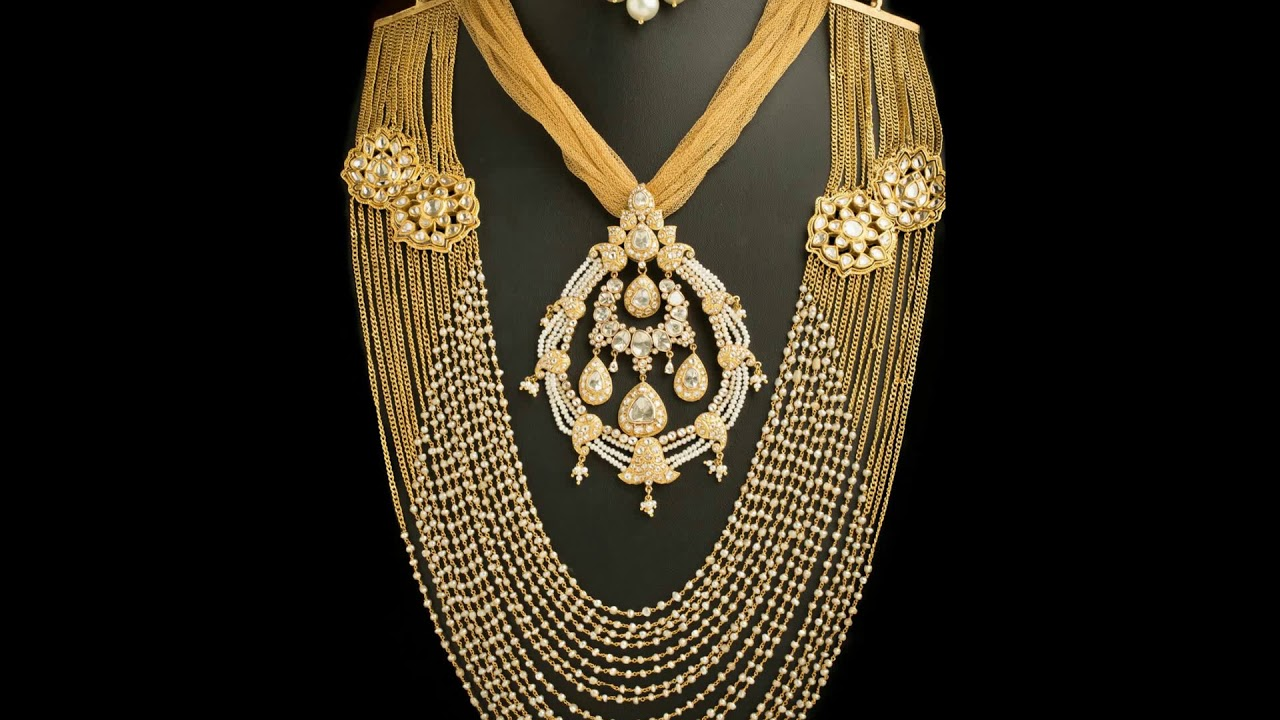 Latest Unique 3 Layer Rani Haar Most Beautiful and Expensive