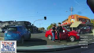 Driver turns across oncoming traffic - Earlwood NSW