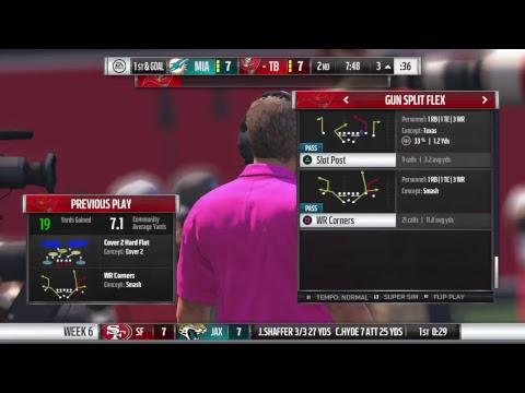 Bucs vs Dolphins - Week 6