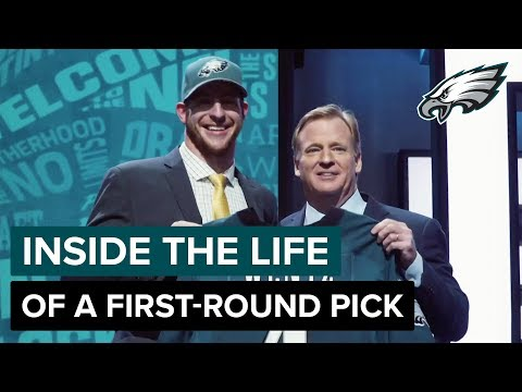 Carson Wentz, Lane Johnson, & Derek Barnett Take You Inside Night One of the NFL Draft