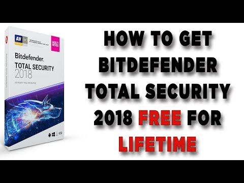 How to get Bitdefender total security 2018 free for a lifetime no ...