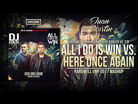 Here Once Again vs. All I Do Is Win vs. We Wanna Party (Hardwell UMF 2017 Mashup)