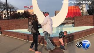 Little boy pees during mom s marriage proposal
