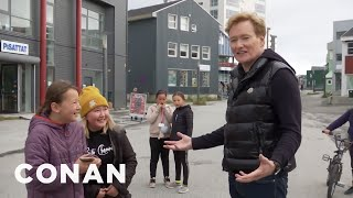 #ConanGreenland Preview: Conan Finds His Core Audience - CONAN on TBS
