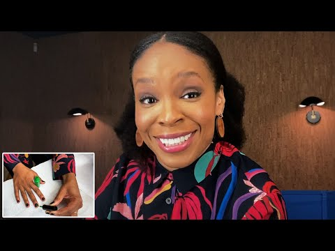 Amber Ruffin's 10 Minute Nail Routine | Allure