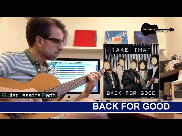 Back for Good - Fingerstyle Cover - Federico Chianucci