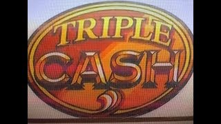 Big Win Triple Cash Dollar Slot★$ 270 free play was only $77 cash. But...  San Manuel, Akafuji Slot