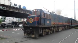 PNR trains in Manila. John Coyle video.