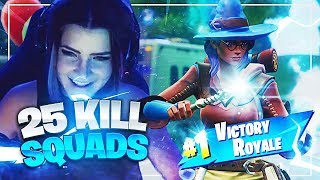 25 KILL SQUADS w/ Ghost Aydan & ItsDiggyTV (Fortnite: Battle Royale) | KittyPlays