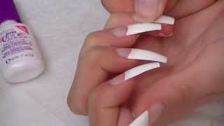 Quick Acrylic Nails with the Nailene Kit