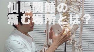 仙腸関節性腰痛で痛む場所完成 放散痛 検索動画 16