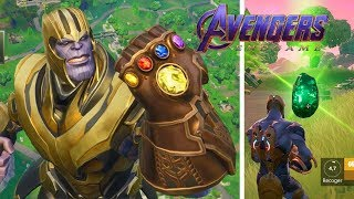 TIP GET THAN EASY IN FORTNITE!! PARTY WITH THANOS GUANTELETE!!