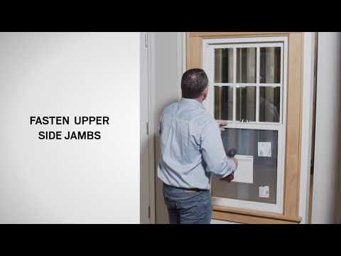 100 Series Single-Hung Insert Window Installation Demo | Andersen Windows
