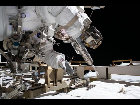 A Mighty Powerful Spacewalk Outside the Space Station on This Week @NASA  July 3, 2020