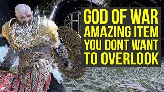 God of War Best Gear - Amazing Item You DON'T WANT TO OVERLOOK (God of War 4 Best Gear)