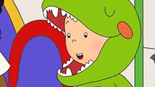 Jurassic Caillou 👻 Funny Animated Videos For Kids | Caillou Videos For Kids
