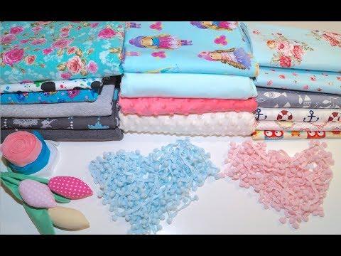 Мои покупки #1 Обзор ткани и что планирую сшить из нее