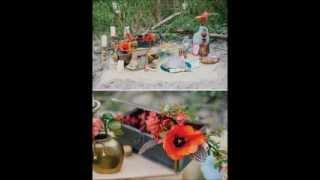 Свадьба с оранжевым акцентом