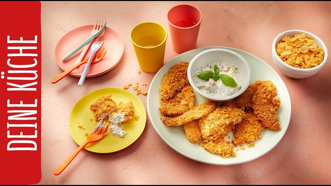 Chicken Nuggets selber machen | REWE Deine Küche - YouTube