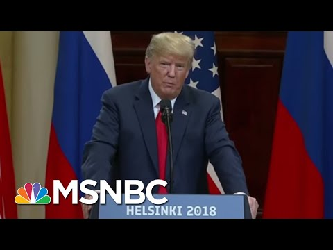 Why President Donald Trump Just Can't 'Hit Delete' On Helsinki Remarks | Morning Joe | MSNBC